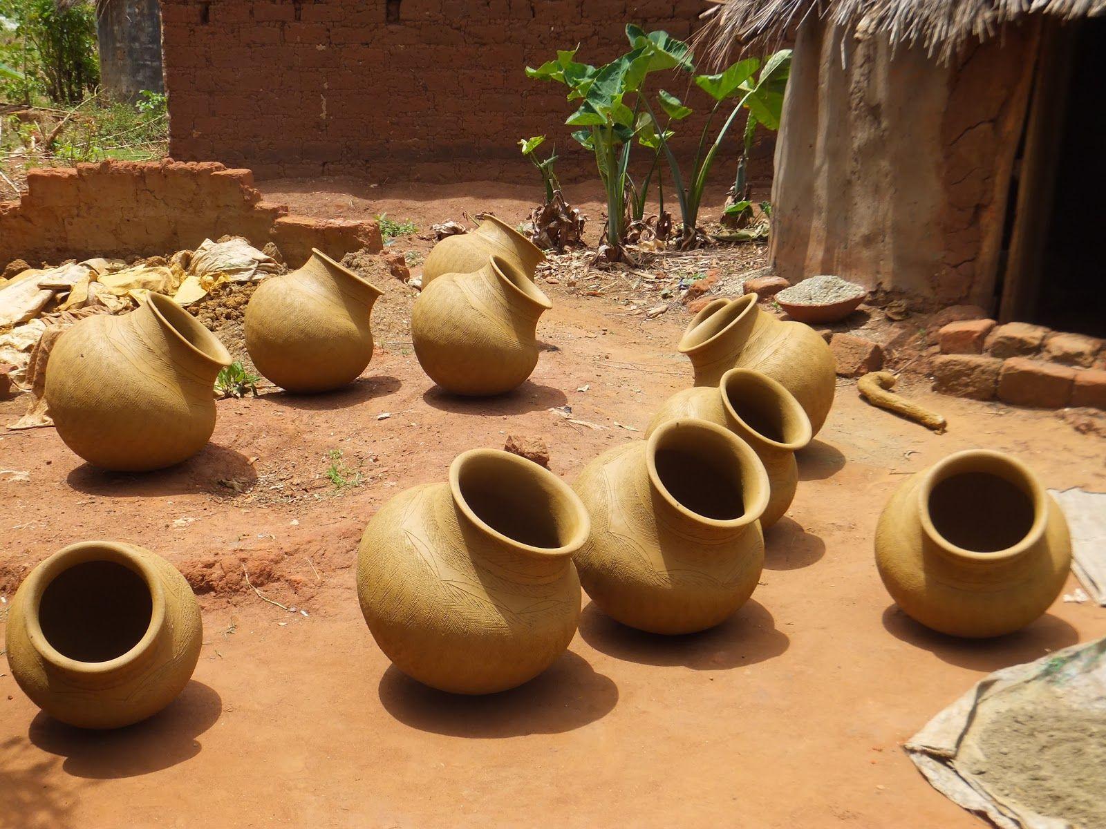 pottery in Uganda